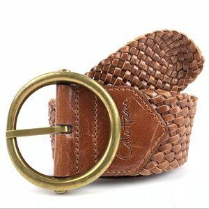 Cole Haan Women's Leather Belt Size S